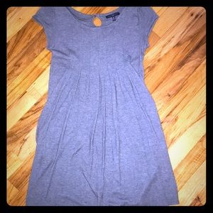 GAP XSP gray dress with pockets